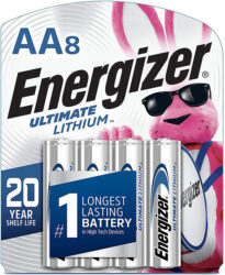 Energizer Lithium AA Batteries