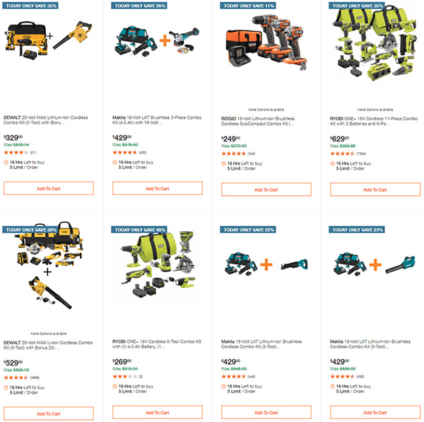 Home Depot Tool Deals of the Day 12-28-20 Page 1