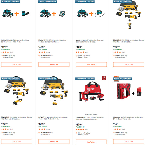 Home Depot Tool Deals of the Day 12-28-20 Page 2