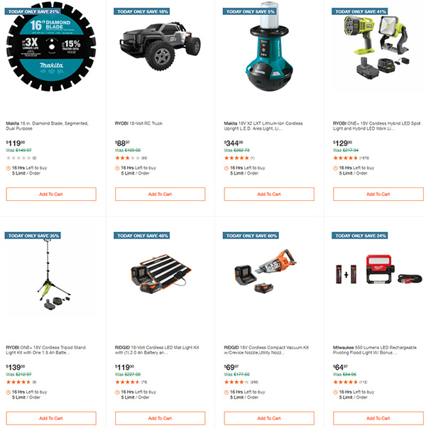 Home Depot Tool Deals of the Day 12-28-20 Page 7