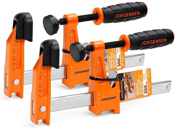 Jorgensen 4-inch Bar Clamp Set