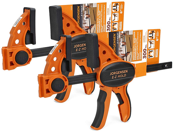 Jorgensen 6-inch Trigger Clamp Set