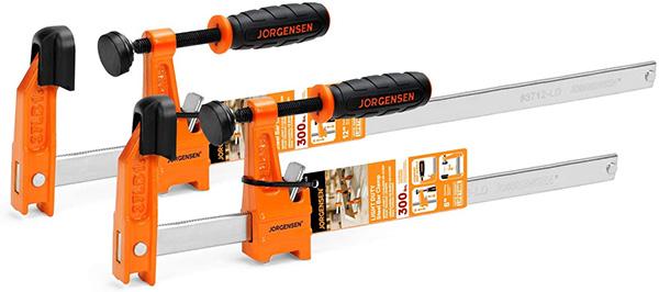 Jorgensen Bar Clamp Set 8-inch and 12-inch