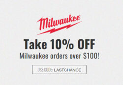 Milwaukee Last Chance Deal at CPO Tools 12-16-2020