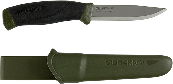 Mora Companion Knife Carbon Steel Green Handle