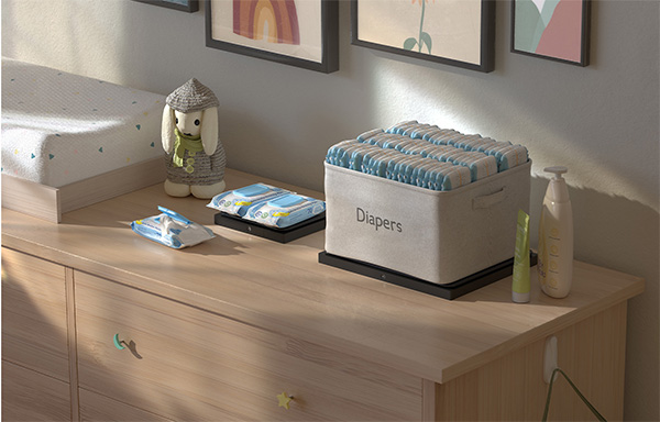 Amazon Dash Smart Scale Diapers Example