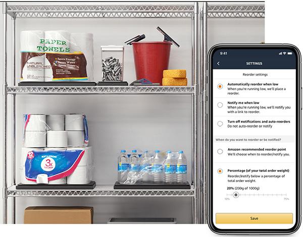 Amazon Dash Smart Scale Pantry Example