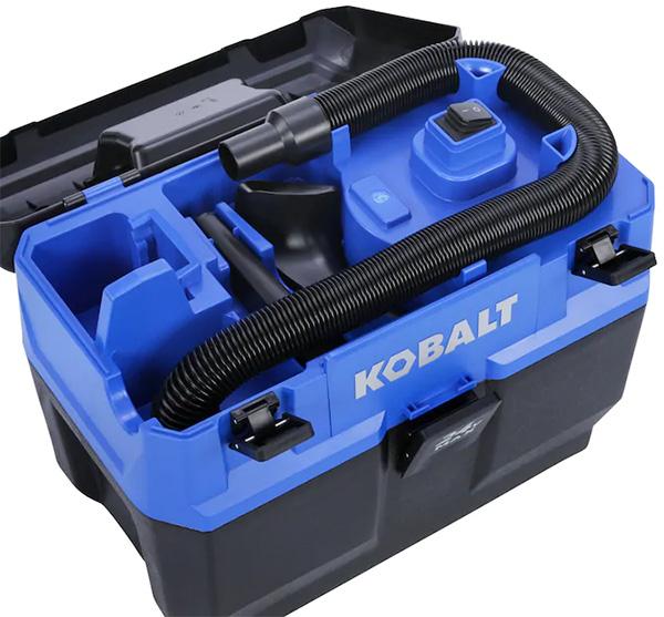 Kobalt 24V Max Cordless Vacuum Accessories Compartment