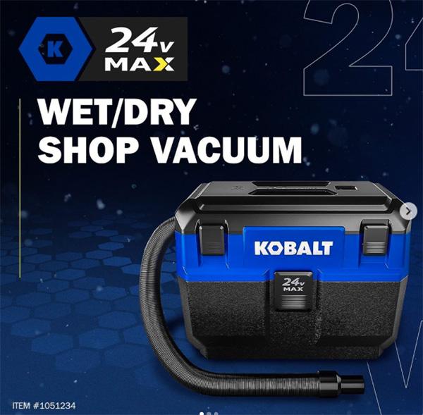 Kobalt 24V Max Cordless Vacuum