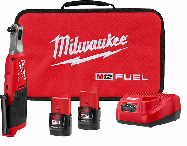 Milwaukee M12 Fuel High Speed Ratchet Kit