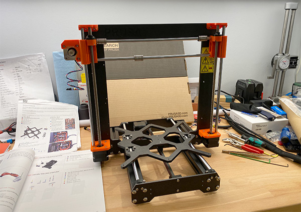 I Started Building My First Prusa 3D Printer (i3 MK3S+ Kit)